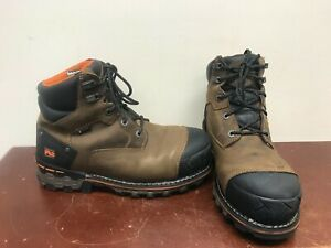 """Men's Timberland Pro Boondock 6"""" Work Boots Size 8.5"""