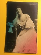 Eleanor Robson Opera Singer Painted Leaning American Post Card Co. Postcard