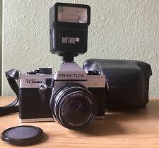 PRAKTICA SUPER TL 1000 35mm SLR & PENTACON 50mm F:1.8 LENS, PHOTAX FILTER, CASE