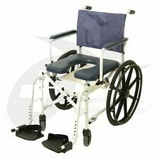 """Invacare Mariner 6895 Rehab Shower Commode Wheelchair w/ 5"""" Casters"""