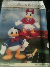 Vintage Simplicity Donald Duck & Daisy Duck PATTERN #7636 Uncut & Factory Folded