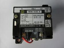 Square D 8502 SB01 600VAC Contactor NEMA 0 8502SB01 Form S Series A