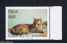 ITALIA 1 FRANCOBOLLO ANIMALI GATTO 1993 nuovo**