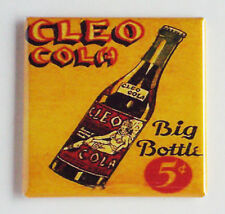 Cleo Cola FRIDGE MAGNET (2 x 2 inches) soda sign bottle label cleopatra