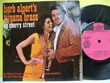 "7"" VINYL EP. Herb Alpert's Tijuana Brass Up Cherry Street. 1965. PYE. NEP 44041"