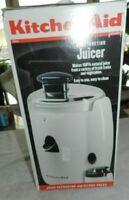 KitchenAid Dual Function Juicer KJE500WH NOS opened box