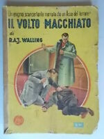 Il volto macchiatoWalling Mondadori1946gialli3 giallo Tolefree Pierce  gotta