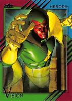 VISION / 2015 Marvel Fleer Retro (Upper Deck) BASE Trading Card #55