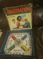 Vintage Frustration Game 1965 Edition Peter Pan Playthings Retro Board Game