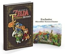 The Legend of Zelda: Tri Force Heroes Collector's Edition Guide : WH4 HB697 -NEW