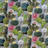 Cactus, Cacti Digital Print Fabric - Quality Upholstery Fabric & 100% Cotton