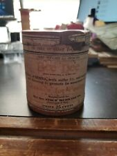 Vintage 1800s Bee Dee Poultry Medicine Container NOS