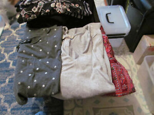 3 ASSORTED SIZE 16 TOPS VARIOUS DESIGNS-STYLE AND MATERIAL ALL GOOD CLEAN