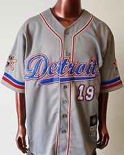 NLBM Detroit Stars Men's Baseball Jersey Gray
