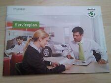 Skoda,Scheckheft Plan de service,Carnet d'entretien,Superb,Yeti,Roomster,Octavia