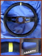 FIAT 131 / 124 ABARTH - VOLANTE TIPO RALLY A CALICE IN PELLE SCAMOSCIATA