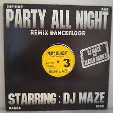 "DJ Maze – Party All Night Vol.3 (Vinyl 12"", Maxi 33 Tours)"