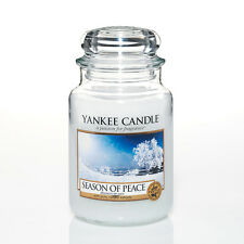 Yankee Candle Season Of Peace Grosses Glas 623 G