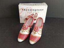 Kensington Giftware Ceramic Pair Of Shoes In Box.