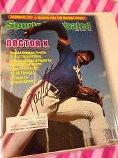 Doc Gooden Autographed Sports Illustrated
