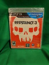 Resistance 3 (Sony PlayStation 3, 2011) NEW SEALED