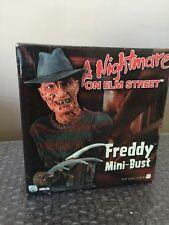 NECA Reel Toys A Nightmare On Elm Street FREDDY KRUEGER Mini-Bust UNUSED LOOK!