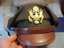 ORIGINAL WWII USAAF CBI PILOT WINTER CRUSHER CAP / SUMMER CAP ETC.....