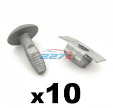 Citroen Metal Engine Undertray Fasteners / Shield Clips- 10x Bolts & 10x Clasps
