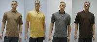 PUMA Sports Poloshirts T-Shirt reine Baumwolle 4 Modelle arena gelb grau braun