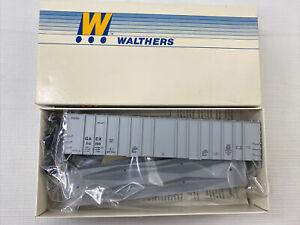 NIB HO Walthers 50' AIRSLIDE HOPPER Kit #932-3657a GACX #56159 Gray Vintage