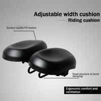Bike Saddle Seat No Nose Mountain Bicycle Seats Comfortable Cushion Cycling G7W8