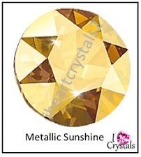METALLIC SUNSHINE 144 pieces Swarovski 5ss 1.8mm Crystal Flatback Rhinestones