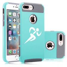 For Apple iPhone SE 5c 5 5s 6 6s 7 Plus Shockproof Hard Case Cover Runner