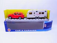 3 x Wiking Caravane différentes Imprimé 1:87 lc6 å *