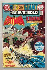 Brave and the Bold #120 (1975) VF+ (8.5) ~ Batman & Kamandi ~ Bob Haney