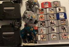 Lot Of Nintendo 64 N64 Console And Games Untested