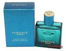 Versace Eros MINI by Versace Men 0.17 / 5 ml EDT Mini Splash - New in Box