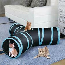 AroPaw Collapsible Cat Tunnel Tube Interactive Indoor Cats Peek Hole Kitten Toys