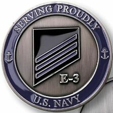 UNITED STATES NAVY RANK E-3 BLUE CONSTRUCTIONMAN COIN