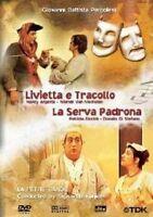 Livietta e Tracollo La Serva Padrona DVD Nuovo G. Battista Pergolesi Kuijken N