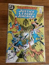 1986 Justice League of America # 254 DC Comic, Watchmen, Bagged and Boarded