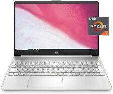HP 15-inch HD Laptop, AMD Ryzen 7 3700U Processor, 8 GB RAM, 256 GB SSD