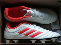 Adidas COPA 19.4 Firm Ground Junior Soccer Cleats White Boys - Size 5.5 Open Box