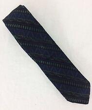 "Vintage 1950's Schiaparelli Italian Silk Tie. 2-1/2"" Wide. Excellent Vintage."