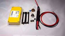 DIY Unregulated Box Mod Kit HAMMOND 2X MOSFET Black YELLOW 1590B ENCLOSURE