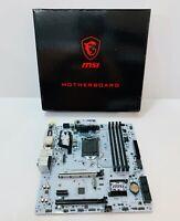 MSI B150M Mortar Arctic Intel B150 LGA1151 DDR4 Motherboard only, No I/O Shield