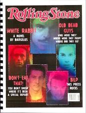 """Highlander Fanzine """"White Rabbit"""" SLASH Novel"""