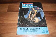 ATLAN  # 46 -- SPIELE des DUNKLEN MONDES // Perry Rhodan Red. / 1. Auflage 1972