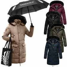 Marikoo Damen Winter Jacke FVS2 Winter Parka Warme Jacke Stepp Mantel COSIMAA
