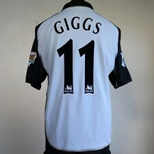 Manchester United Away/3rd Football Shirt Adult Large GIGGS #11 2001/2002